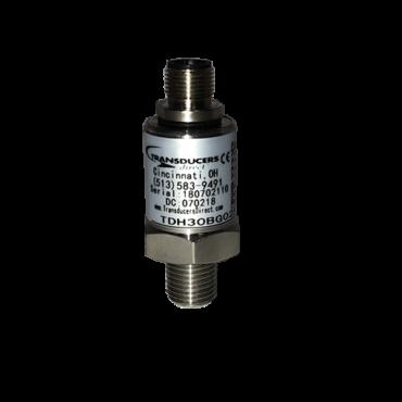 TDH30 Pressure Transducer – 0 to 250 psi, M12